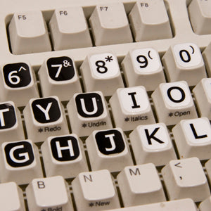 Computer Keyboard Large Print Letters