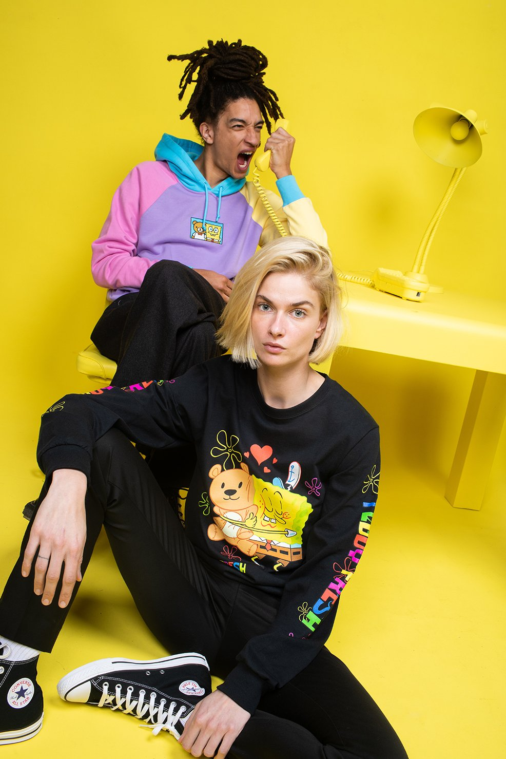 Teddy Fresh x SpongeBob SquarePants