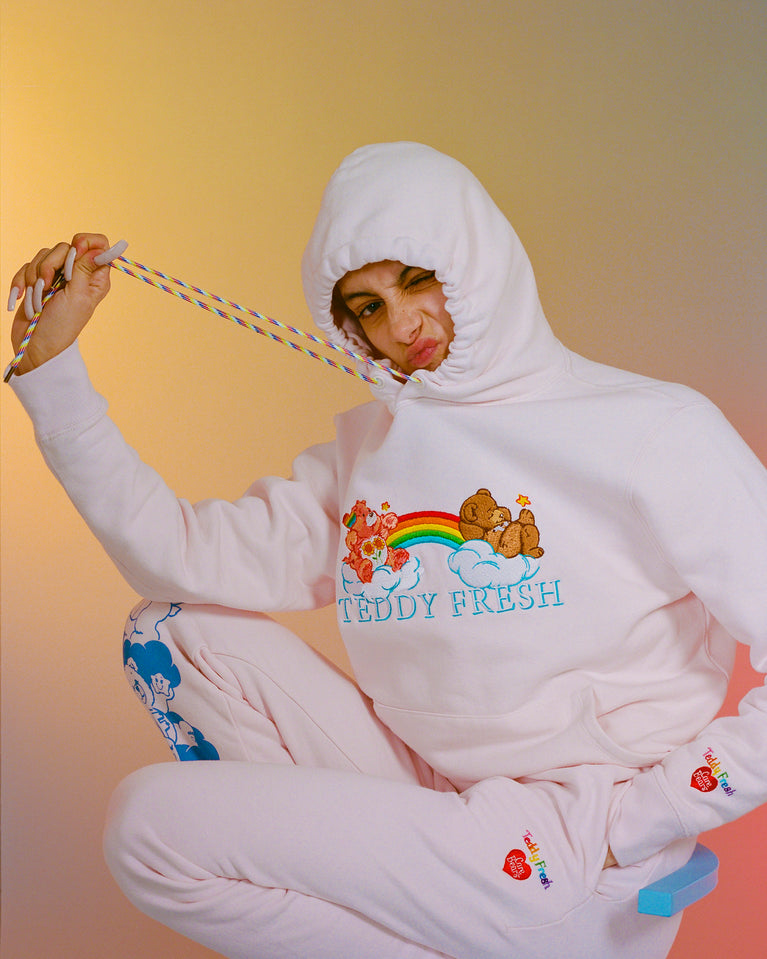 TF X Care Bears Embroidered Hoodie
