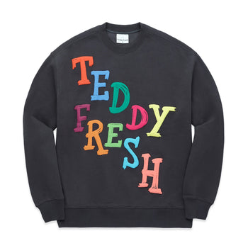 Hand Drawn Puffy Paint Crewneck
