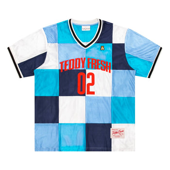 Patchwork Basketball Jersey