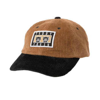 Corduroy Two Teds Patch Hat