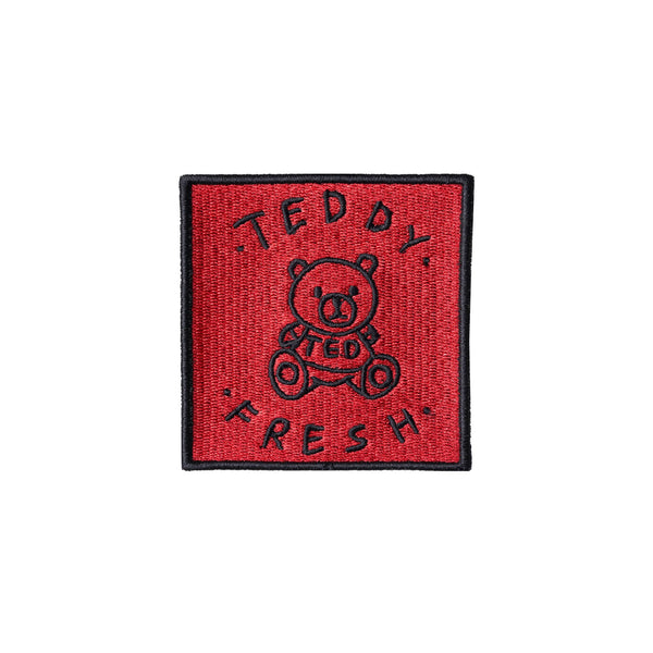 Teddy Fresh Embroidery Patch