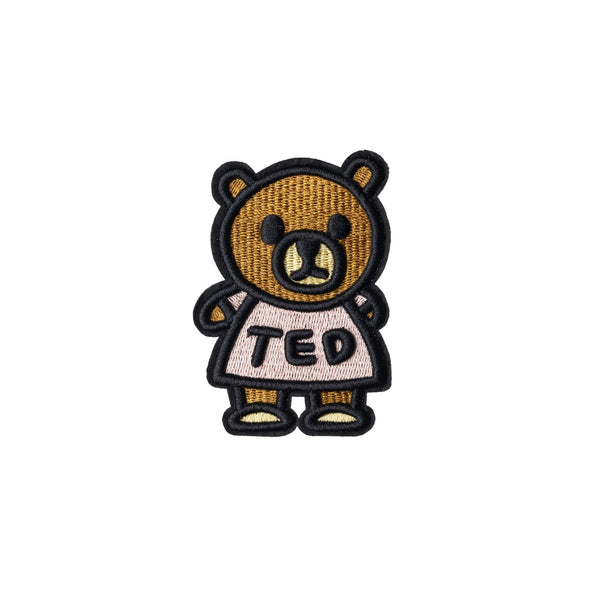 Standing Ted Embroidery Patch