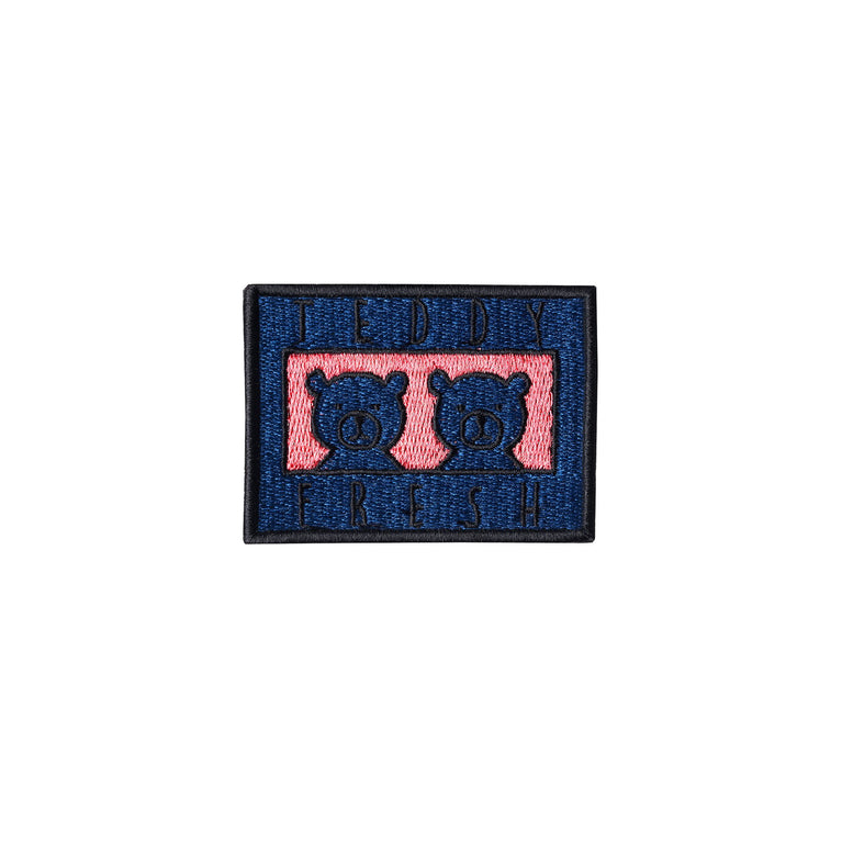Two Teds Blue Embroidery Patch