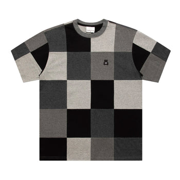 Monochrome Patchwork T-Shirt