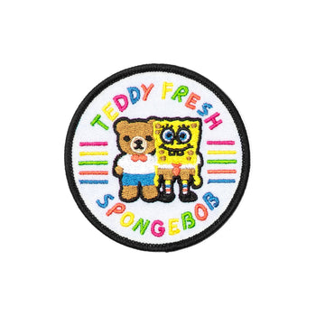TF X SpongeBob Friends Patch