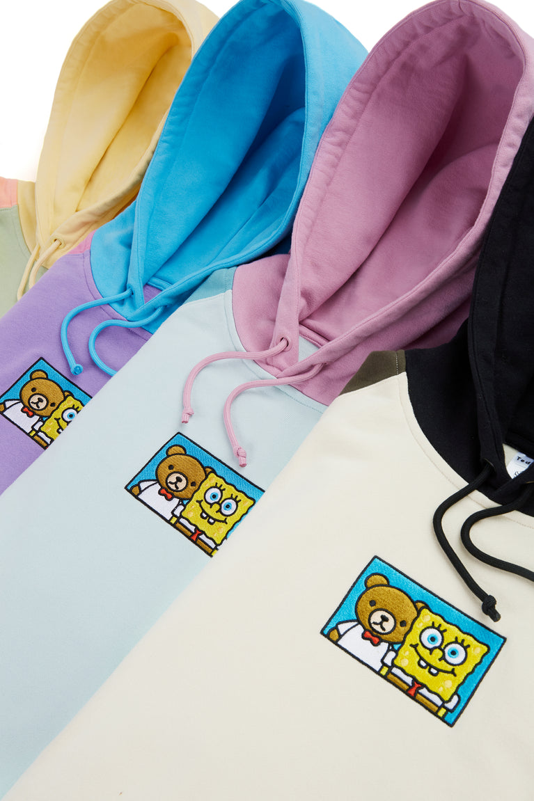 TF X SpongeBob Color Block Hoodie