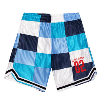 Patchwork Basketball Shorts