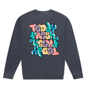 Bubble Graffiti Crewneck