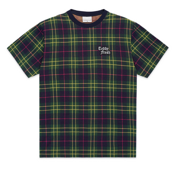 Plaid Jacquard Tee