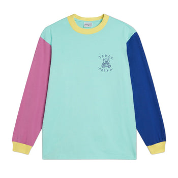 Long Sleeve Colorblock T-Shirt