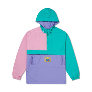 Silicone Patch Windbreaker