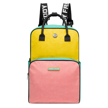 Color Block Full Size Backpack