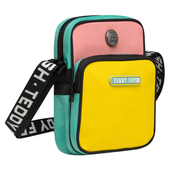 Color Block Crossbody Bag
