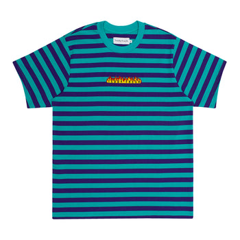 Heavy Fire Striped T-Shirt