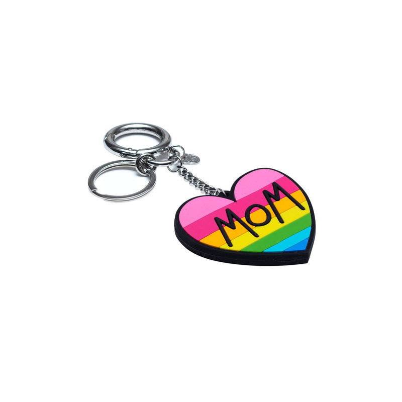 Mom Rubber Keychain