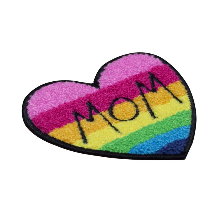 mom chenille  patch