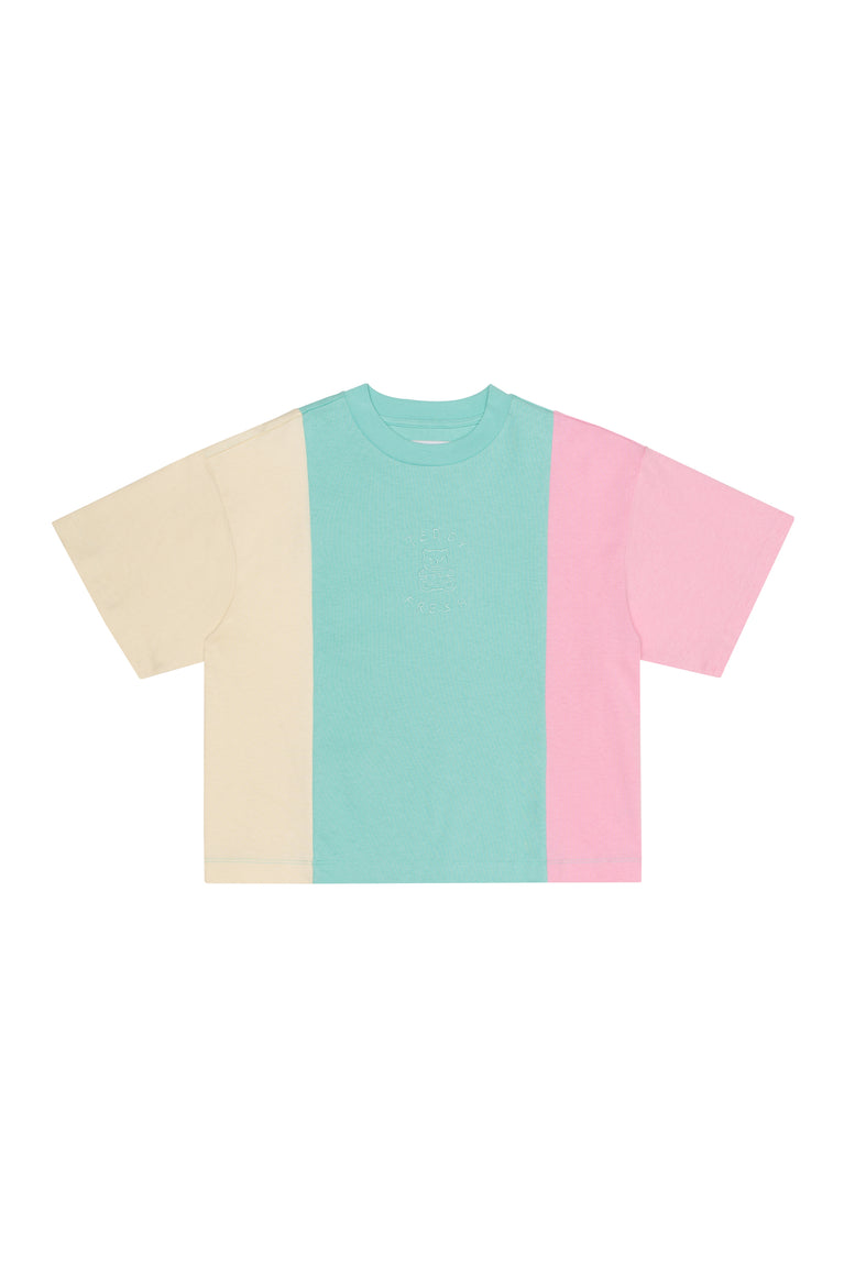 Women's Ice Cream Color Block T-Shirt