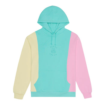 Ice Cream Color Block Hoodie