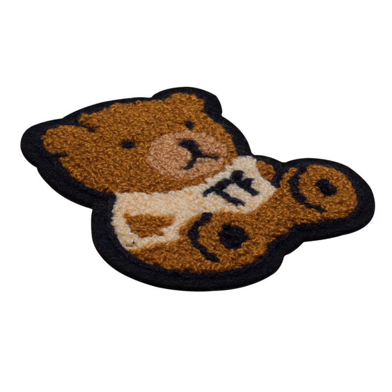 Chenille Bear Patch