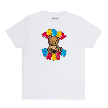 teddy blocks t-shirt