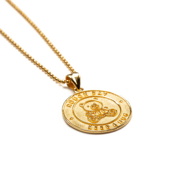 Gold Need A Hug Necklace