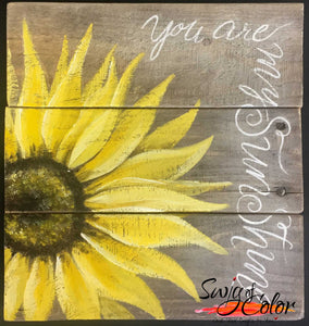 "Quail Creek Paint Social - ""You Are My Sunshine"""