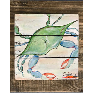 "Paint and Sip at Conchy Joe's - ""Just Be Claws"" Pallet"