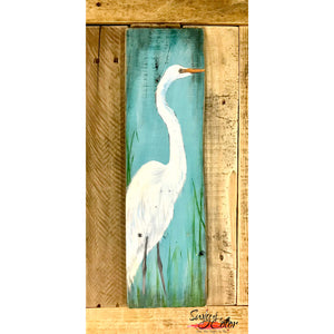 "Sailfish Brewery Sip and Paint - ""Egret"" pallet"