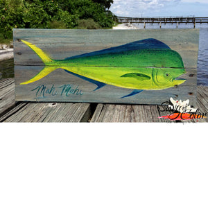 "Islamorada Brewery Paint and Pints - ""Mahi"" Pallet"