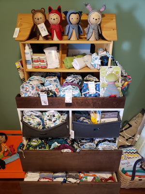 natural diapering, cloth diapers, eco friendly diapers, diapering supplies