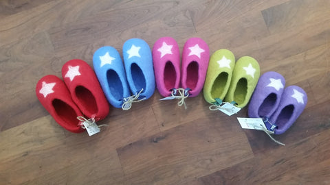 Woolen Slippers for Baby - Sizes 20, 21, 22, 23, 24