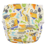 Organic Side Snap Simplex All In One Diaper - Size Medium