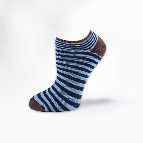 Organic Cotton Footie Stripe Sock