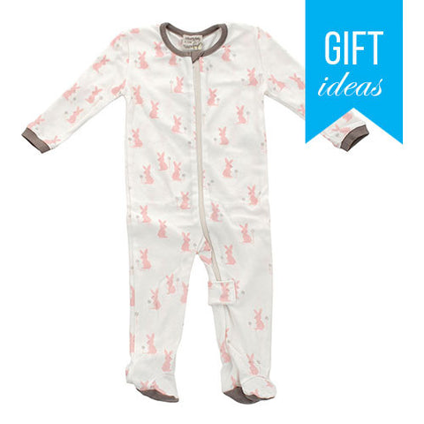 Organic Cotton Footed Sleeper