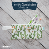 Simply Sustainable Thirsties Clutch Size Bag