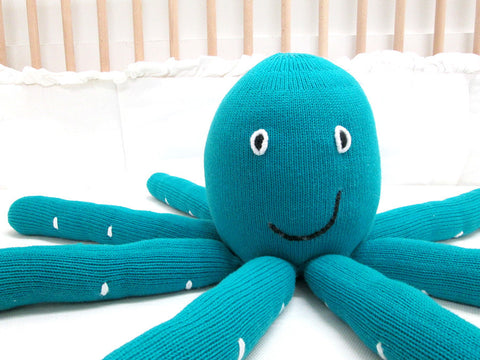 Octopus Decor Pillow