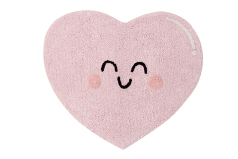 Washable Rug - Happy Heart