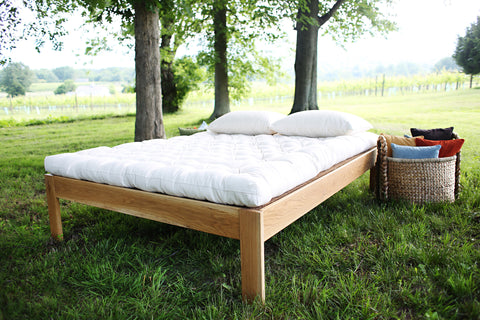 Pastoral Hand-tufted Organic Wool Mattress
