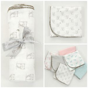 Organic Cotton Swaddler Blanket