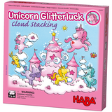 Haba - Unicorn Glitterluck Cloud Stacking