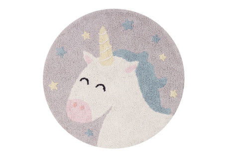 Washable Rug - Believe in Yourself (Unicorn)