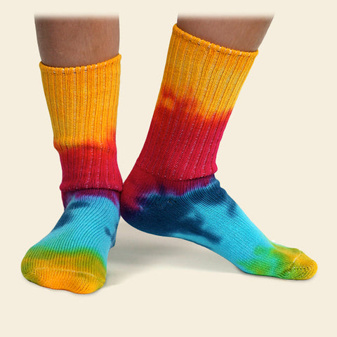 Organic Cotton Kids' Socks - Tie Dye
