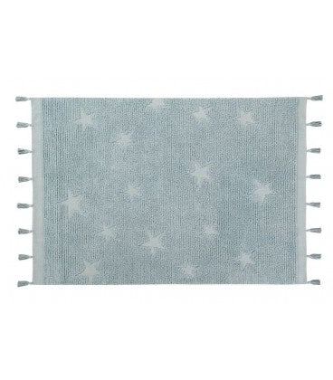 Washable Rug Hippy Stars