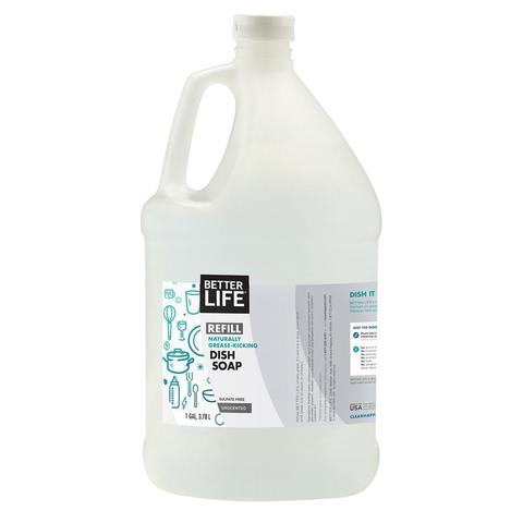 Dish Soap - Unscented 1 Gallon Refill