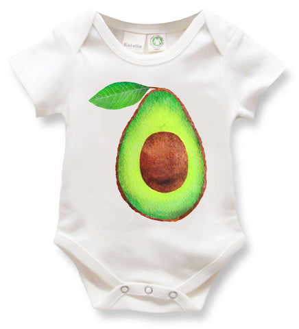 Avocado and Taxi Onesies