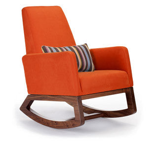 Paul Smith Brown Stripe Lumbar on Joya in Orange