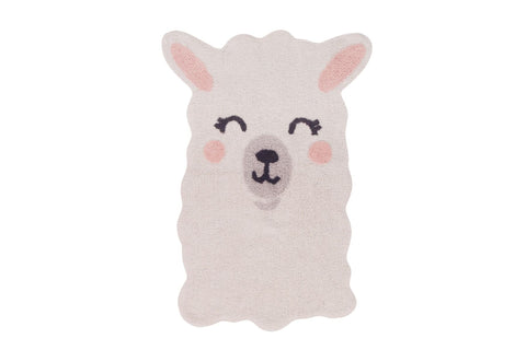 Washable Rug - Smile Like a Llama
