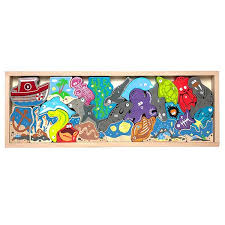 Ocean A-Z Puzzle & Playset